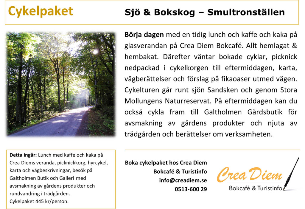 Microsoft Word - Cykelpaket Sjö Bokskog Smultronställen.docx